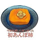 2016年初物あんぽ柿(ソフトタイプの干し柿)