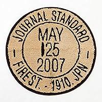 Journal standard furniture JSF STAMP RUG BEIGE ベージュ スタンプ ラグ ラグマット アクリルW70 D70 H1 cm journal standard
