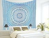 アートプリント 壁掛け布 インド 伝統 工芸 太陽