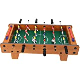 """Soccer Game, 20"""" Mini Table Football, Table Soccer, Enjoy Tabletop Football Game Boy Soccer Game Toy for Adults and Kids (Woo"""