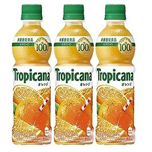 キリン トロピカーナ 100%オレンジ 330mlPET ×3本