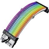 LIANLI RGBのカラーバリエーションと汎用性を強化した光るATX電源ケーブル STRIMER PLUS 24PIN 日本正規代理店品