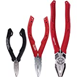 VamPLIERS World's Best Pliers 3 PC set S3C Screw Extraction Pliers for damage/Rusted/Security/Specialty/