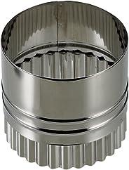 パール金属 EEスイーツ ステンレス製 ウェーブラウンド両用 抜き型 6cm D-4894