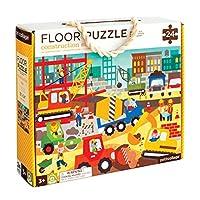 Petit Collage Construction Site Floor Puzzle 24 pieces 【You&Me】 [並行輸入品]