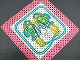 エルメス スカーフ ピンク (エルメス) HERMES スカーフ ピンク×マルチ プチカレ/ガヴロッシュ 【中古】
