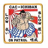 米軍 US NAVY 海軍 ワッペン CAC-ICHIBAN ON PATROL 哨戒 LOW 低い SLOW 遅い PN-106