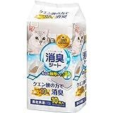 アイリスオーヤマ システムトイレ用 1週間におわない脱臭シート クエン酸入 10枚入