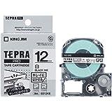 キングジム テープカートリッジ テプラPRO はがせるラベル 12mm SS12KE 白