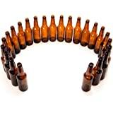 Monster Brew Home Brewing Supp Amber Beer Bottles-12 oz Longneck-Case of 24, 12 oz