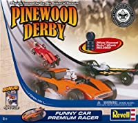 Revell Pinewood Derby Funny Car Premium Racer Kit [並行輸入品]