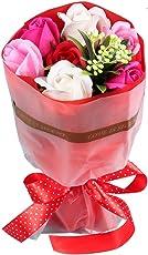 ソープフラワー ギフト花束 枯れない花 誕生日 母の日 記念日 先生の日 バレンタインデー ホワイトデーなど最適としてのプレゼント