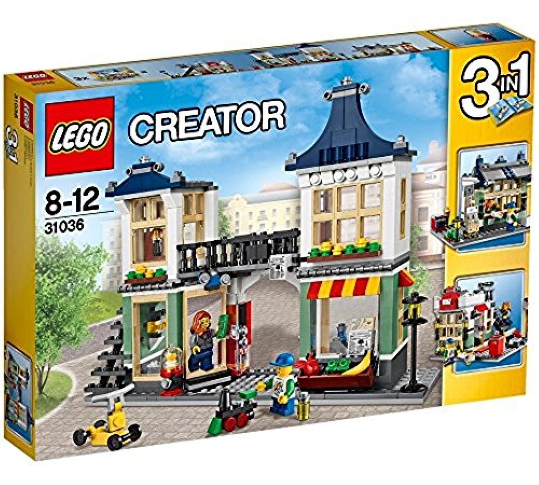 レゴ (LEGO) クリエイター おもちゃ屋と町の小さなお店 31036