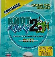 Aquateko NT1X702510 Knot 2 Kinky 1X7 11kg 3m Leader