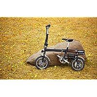 Airwheel R6 超小型 ボタン1つで自動伸縮 電動ハイブリット パナソニック製30.5v 18Ah バッテリー 電動アシスト自転車