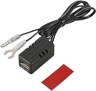 エーモン USB電源ポート MAX2.1A 後部座席延長用 2880