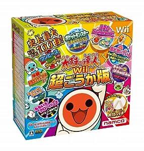 太鼓の達人Wii 超ごうか版 (専用太鼓コントローラ「太鼓とバチ」同梱版) / バンダイナムコゲームス