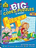 Big Codes, Puzzles & More (Big Get Ready Activity Workbook)