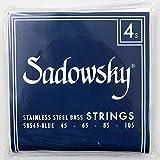 SADOWSKY SBS45 Blue ブルーラベル ステンレススチール エレキベース弦