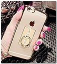 iPhone SE ケース リング付き かわいい iPhone5s ケース iPhone5 ケース Finger Ring Bumper Case iPhone SE/5S/5カバー 落下防止リング付き キラキラ デコ おしゃれ アイフォンSE/5S/5対応ケース カバーiphone 5S カバー ケース RKS353B