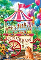 Ice Cream Cart a 100-Piece Jigsaw Puzzle by Sunsout Inc. by SunsOut