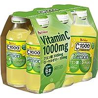 C1000 ビタミンレモン クエン酸&ローヤルゼリー 140ml×6本 ハウスウェルネスフーズ