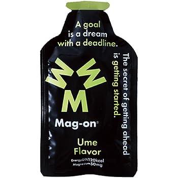 Mag-onエナジージェル 梅 持久系アスリート向け水溶性マグネシウム&エネルギー