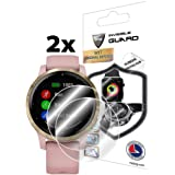 IPG for Garmin vívoactive 4S Smartwatch Screen Protector (2 Units) Invisible Ultra HD Clear Film Anti Scratch Skin Guard - Sm