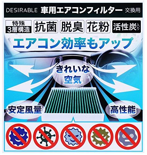 Desirable製 特殊3層構造&活性炭入り 交換用 エア...