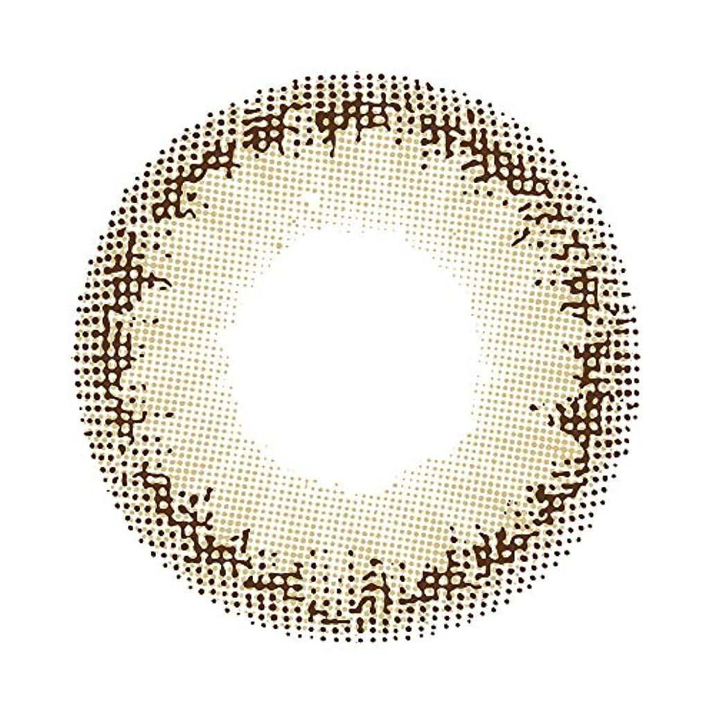 チョコレート勇者アミューズカラコン メランジェ バイ マジックカラー ミスティックフォレスト カーキ 1箱1枚入 1ヶ月 14.2mm 度あり (-2.00)