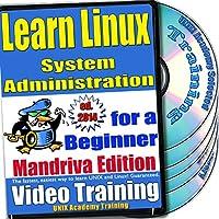 Linuxのシステム管理。初級ビデオトレーニングおよび認定試験、英語でMandrivaのバージョン。 4 -DVDセット