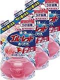 【まとめ買い】液体ブルーレットおくだけ トイレタンク芳香洗浄剤 詰め替え ピーチの香り 70ml×3個