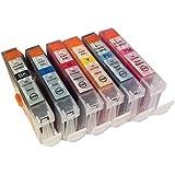 3年保証 キャノン (CANON)用 BCI-3e / BCI-6 互換インクカートリッジ 6色セット BK/C/M/Y/PC/PM ベルカラー製