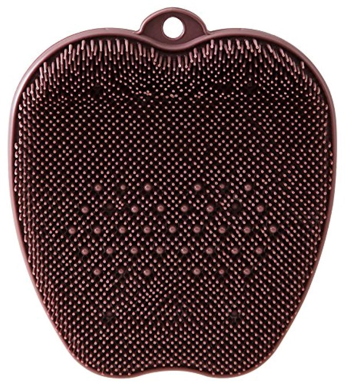 現代の靴下しょっぱいtone フットブラシ ブラウン TR-15