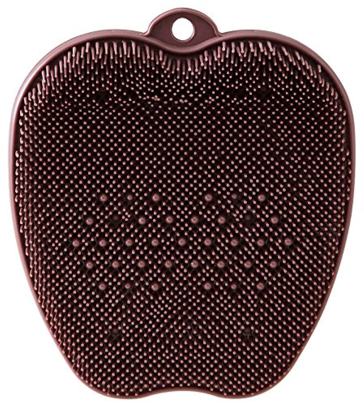 応用配分恐れるtone フットブラシ ブラウン TR-15