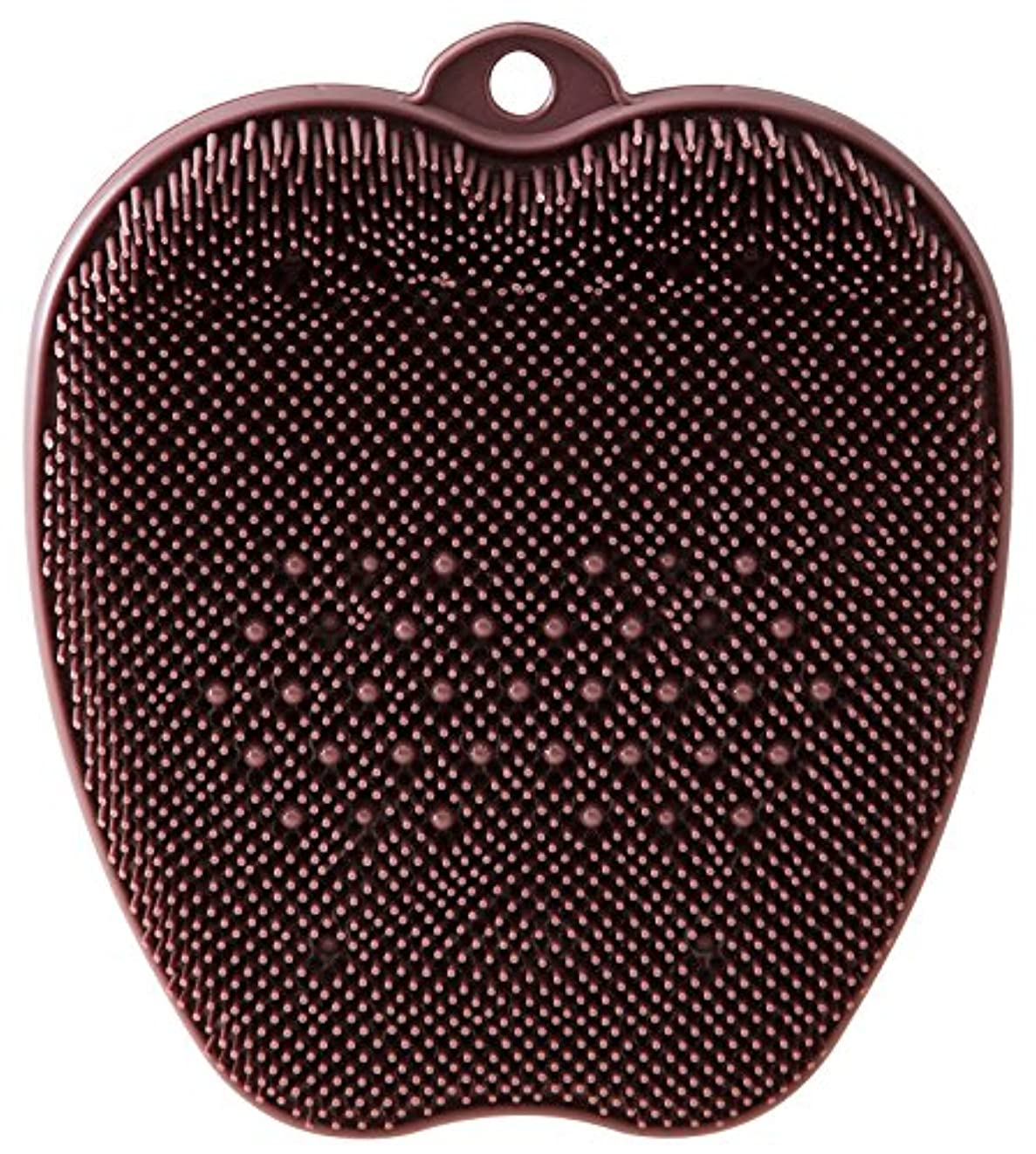 キャッシュ柔らかさ気付くtone フットブラシ ブラウン TR-15