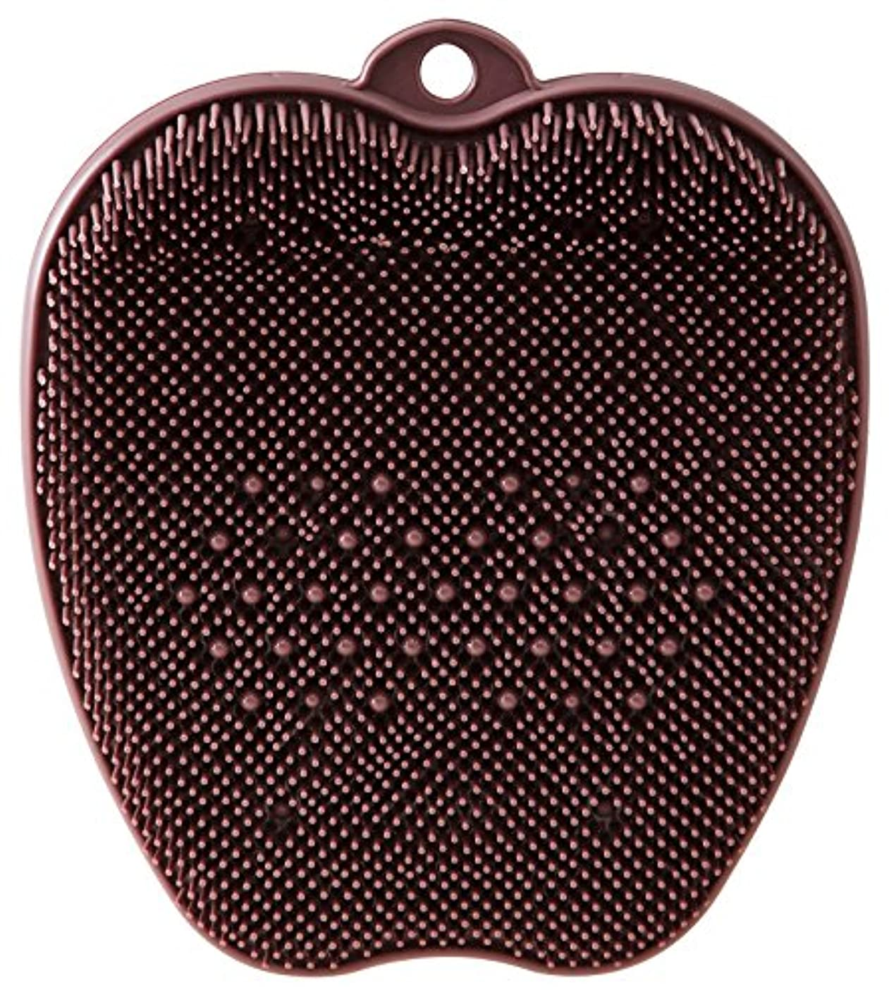 直感呼吸するアナロジーtone フットブラシ ブラウン TR-15