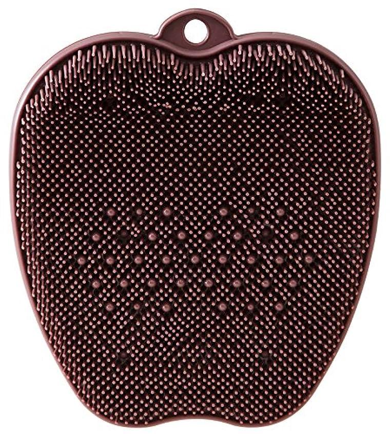 比類のない音声学先tone フットブラシ ブラウン TR-15