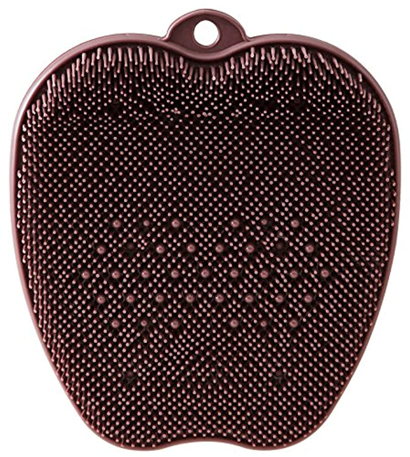 タックル認証愛情深いtone フットブラシ ブラウン TR-15