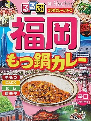 ハチ食品 福岡もつ鍋カレー 200g ×5袋