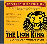 The Lion King (Original Broadway Cast Recording) (Special 2-Disc Edition) by Soundtrack (2010-01-12)