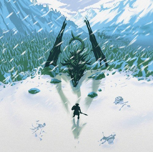 ELDER SCROLLS V: SKYRIM (VIDEO GAME SOUNDTRACK) [LP] (180 GRAM, FOREST GREEN COLORED VINYL, DIE-CUT GATEFOLD) [Analog]