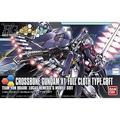 HGBF 1/144 クロスボーンガンダム X1 フルクロス TYPE.GBFT (ガンダムビルフドファイターズトライ)