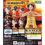 バンダイ ワンピース ログメモリーズ01 ONE PIECE LOG MEMORIES(全6種フルコンプセット)