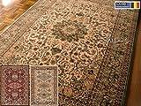 TEBRIZ(テブリズ) ベルギー3タイプ純毛ウィルトン織絨毯200×250約3畳ペルシャ柄 グリーン レッド ベージュ 客間 ベージュ,-