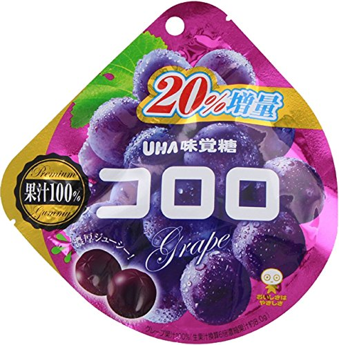 UHA味覚糖 コロロ グレープ 6袋