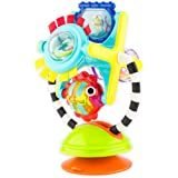 Sassy Fishy Fascination Station - 6+ Months 2-in-1 Toy Suction Cup Removable Base for High Chair Or Floor Play So Baby Can Ex