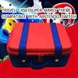 ROPALIA Travel Carrying Case Compatible with Nintendo Switch System EVA Hard Shell Handbag for Nintendo Switch Console Joy-Co