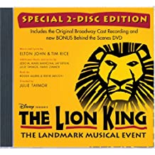 LION KING ON BROADWAY / O.B.C. (W/DVD)