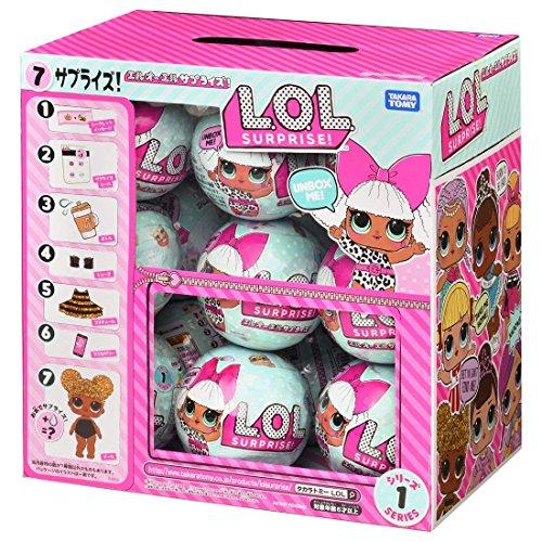 L.O.L. サプライズ! シリーズ1 7サプライズ! 18入 BOX